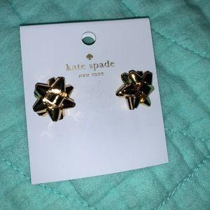 Kate Spade Gold bows